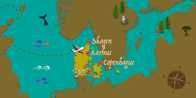 Denmark - Map