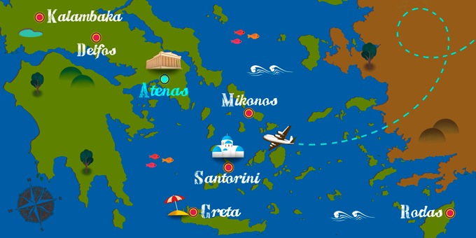 Greece - Map