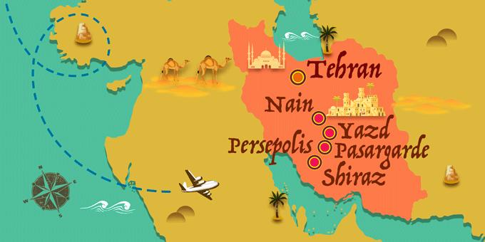Iran - Map
