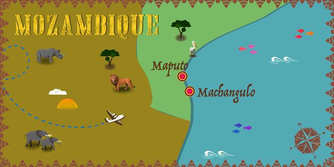 Mozambique - Map