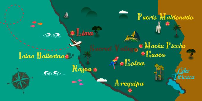 Peru - Map