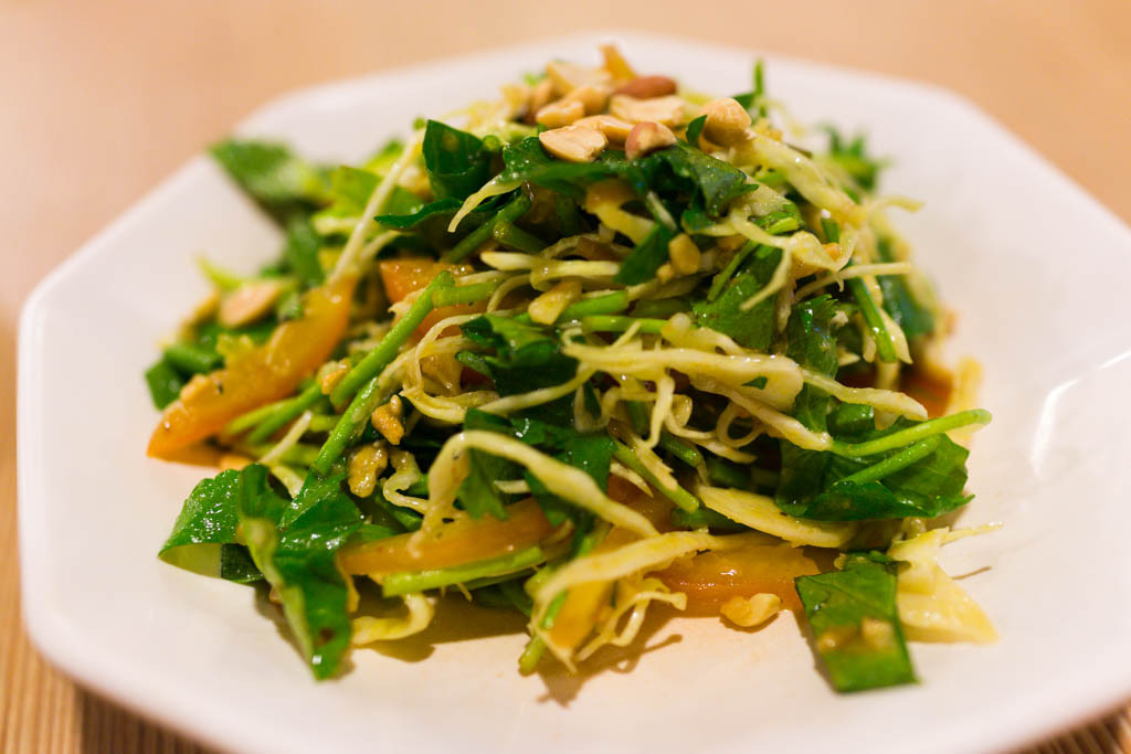 Pennywort Salad