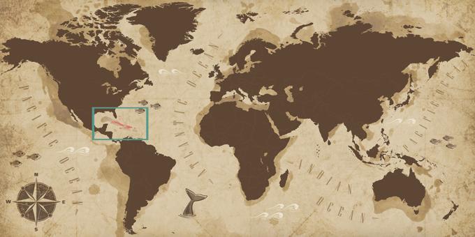Caribbean - Map