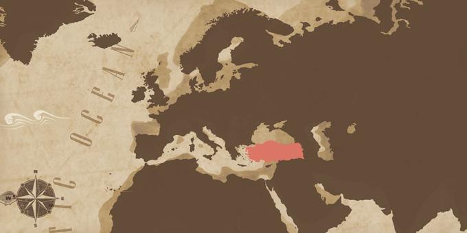 Eastern Mediterranean - Map