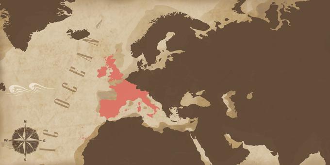 Western Europe - Map