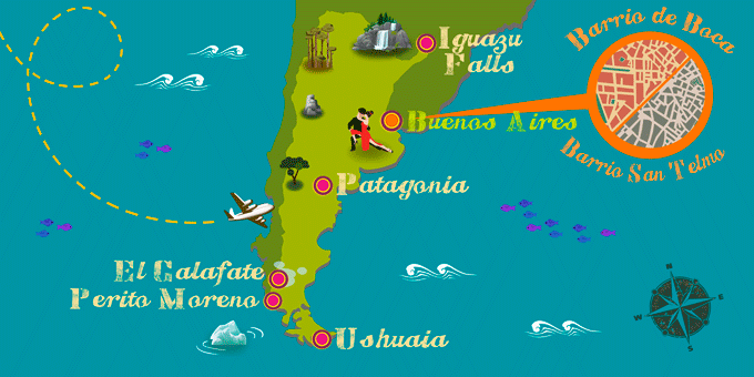 el calafate argentina map When Is The Best Time To Visit Argentina When To Travel Exoticca el calafate argentina map